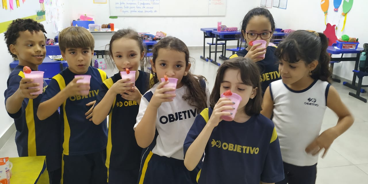 2 ano Guara – cooking class smoothies!