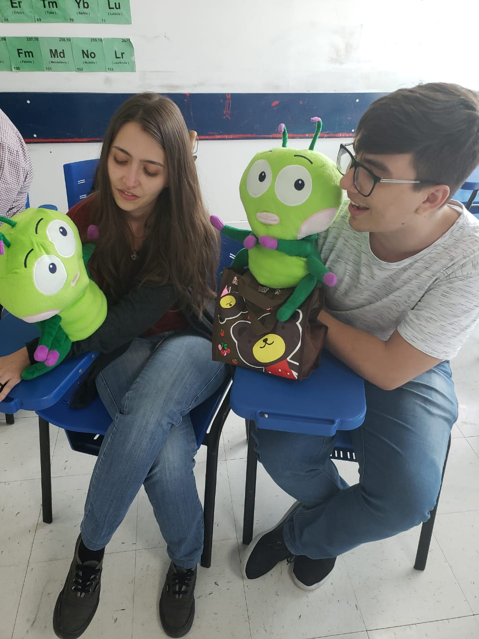 Puppeteering!